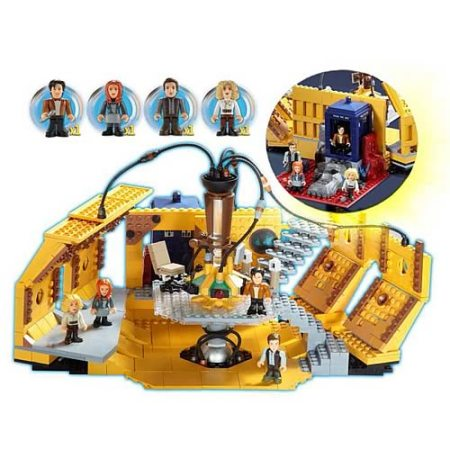 Doctor Who Block Building Set
