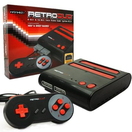 RetroDuo Vintage Gaming System