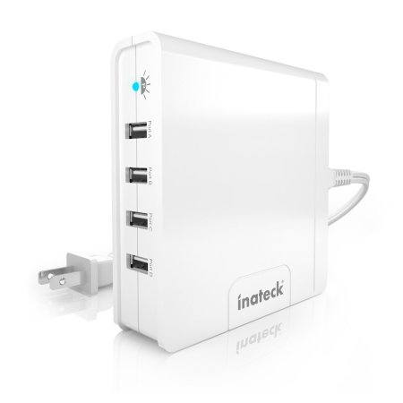 4-port USB Charger Review #tech #gadget #USB