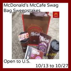 McDonald's McCafe #win #prizes #sweepstakes #giveaway