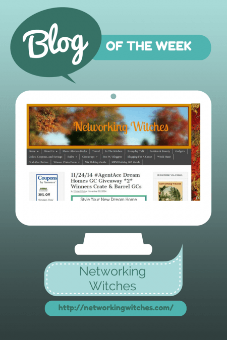 Blog of the Week Networking Witches