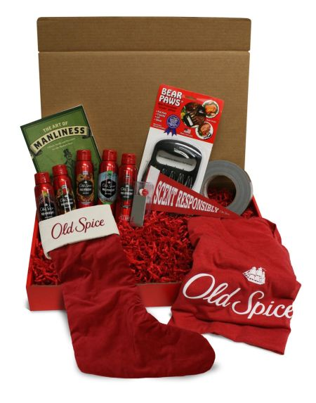 Giveaway prize from Old Spice