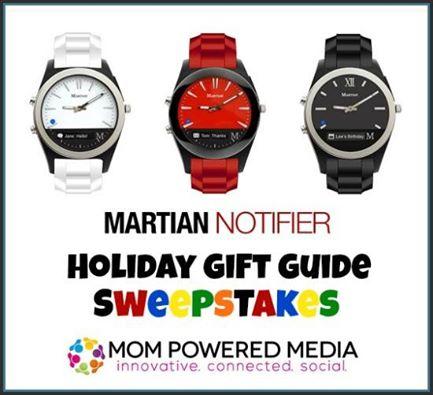 Martian Nofifier Watch Sweepstakes