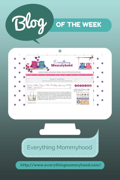 Blog of the Week Everything Mommyhood