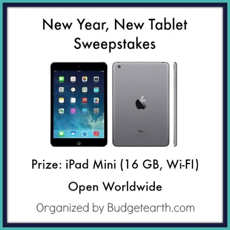 Giveaway, Win, Sweepstakes, Tablet, Tech, Gadget, iPad, iPad Mini