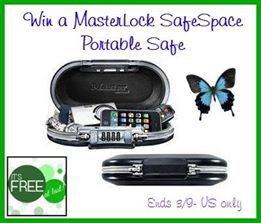 MasterLock Safespace Giveaway