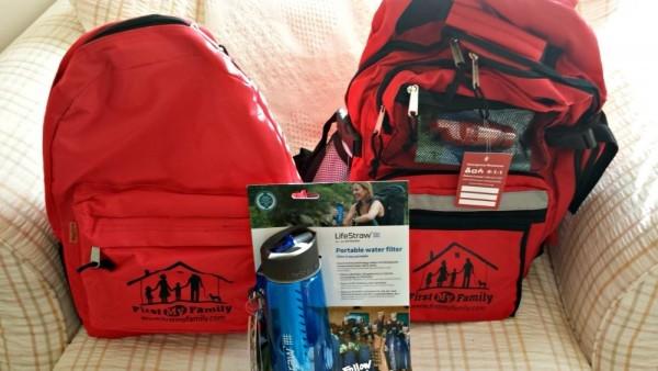Disaster Preparedness Kit Emergency Food and Water