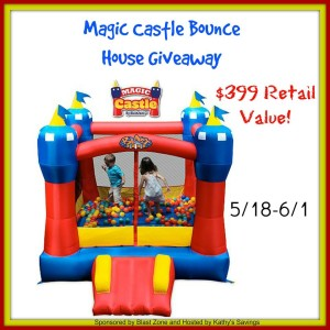 Bounce House Giveaway - Great for the Kids, for fun, maybe some exercise. Good Luck, and be sure to share!