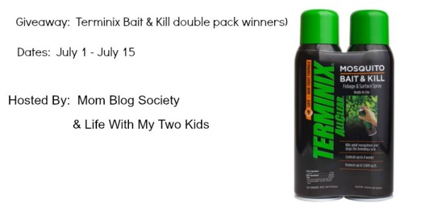 Terminix Bait & Kill (2 Pack) Giveaway - Enter to win 1 of 3 prize packs, and keep bugs out where you don't want them - Ends 7/15