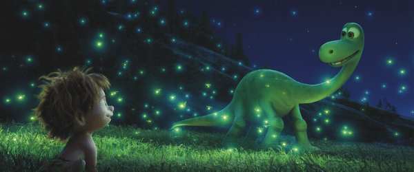 The Good Dinosaur from Disney and Pixar what if the asteroid that made all the dinosaurs extinct never hit?