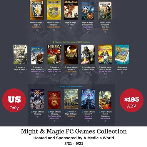 Might & Magic PC Games Collection Sweepstakes - Ends 9/21 Some of the finest PC Role Playing Games ever made #pcgaming #roleplaying