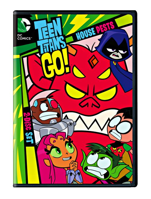 Teen Titans Go!: House Pests Season 2 Part 2 Review Avalable August 18th, 2015 Grab your DVD today. Enjoy the Teen Titans in Action.