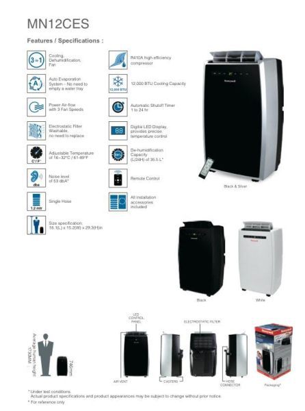 Portable Air Conditioner Stats