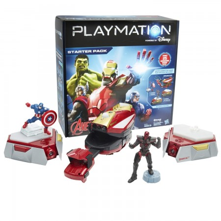 Playmation Marvel's Avengers uses familiar technologies including smart toys, wearables, wireless technology, motion sensors and more, but applies them in ways that are completely new to create a compelling play experience. Playmation is purposely not tethered to an Internet connection so players can run around and explore each adventure from anywhere they want – a bedroom, living room or yard. With multiplayer modes, players can sync their Avenger Gear to tackle missions and combat arenas together, or face-off in competitive play
