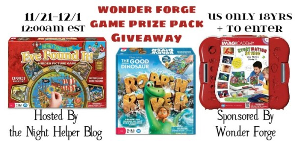 Win these games - Disney's Imagicademy, Eye Found IT! and The Good Dinosaur's Ragin' River Ends 12/1