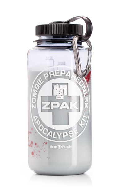 Official AMC The Walking Dead Zombie Preparedness Apocalypse Kit ZPAK Review from First My Family, are you ready for an emergency?