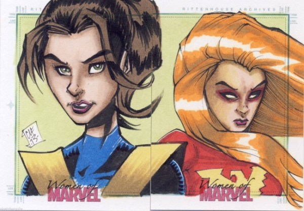 Sketch Card Artist of the Day 12/29/15 – Kitty Pryde by Chris Foreman Art Card, Sketch Card, Drawing, Art, Shadowcat, X-men