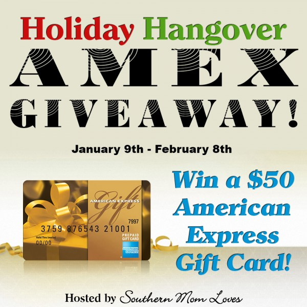 Giveaway - Win a $50 American Express Gift Card - Ends 2/8 Good Luck from A Medic's World