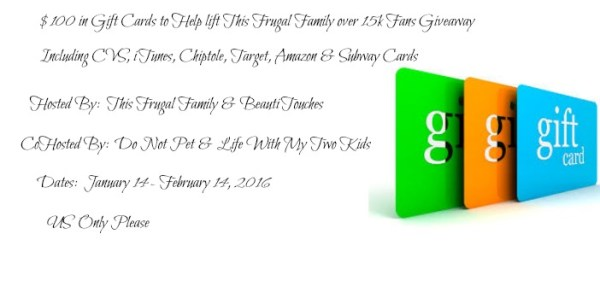 Giveaway for Multiple Gift Cards - Ends 2/14 Here is a great chance to win an assortment of gift cards including CVS, Paypal, Amazon, and more! Good Luck from A Medic's World