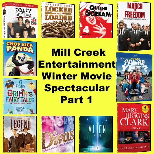 Mill Creek Entertainment Winter Movie Spectacular Giveaway - Ends 2/21