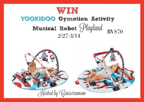Yookidoo Baby Gym and Play Mat Giveaway Ends 3/14 Good Luck from Tom's Take On Things