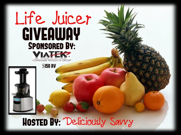 Win a Life Juicer from Viatek Ends 4/21 Good Luck from Tom's Take On Thigns