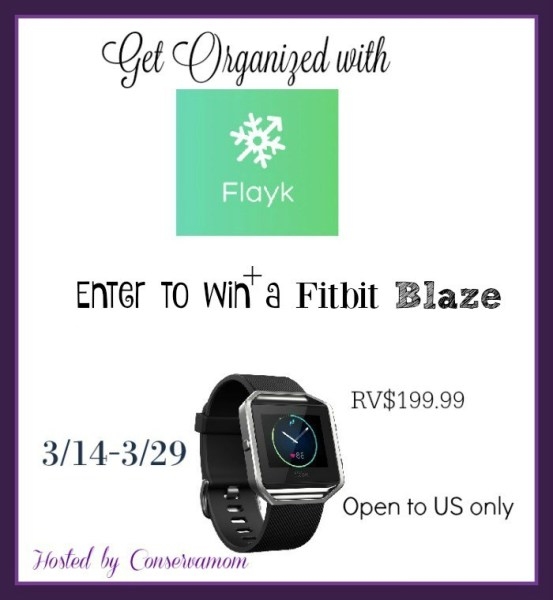 FitBit Blaze Giveaway ~ Keep Fit With Style, Ends 3/29 Good Luck from Tom's Take On Things