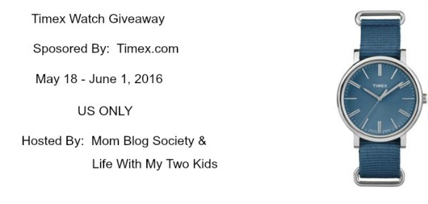 Timex Watch Giveaway - Do you have the time? Good luck from Tom's Take On Things