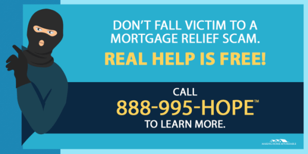 Avoid Mortgage Relief Scams