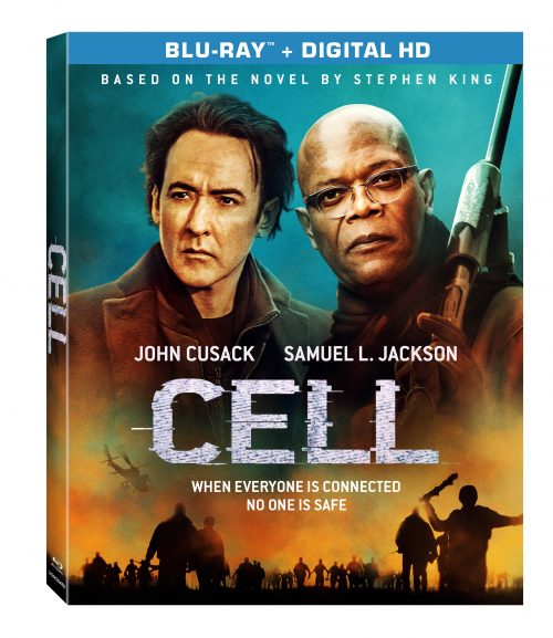 Cell based on Stephen King novel arrives on DVD/Blu-Ray on September 27th