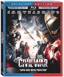 Marvel's Captain America: Civil War on Blu-Ray/DVD Sept. 12th