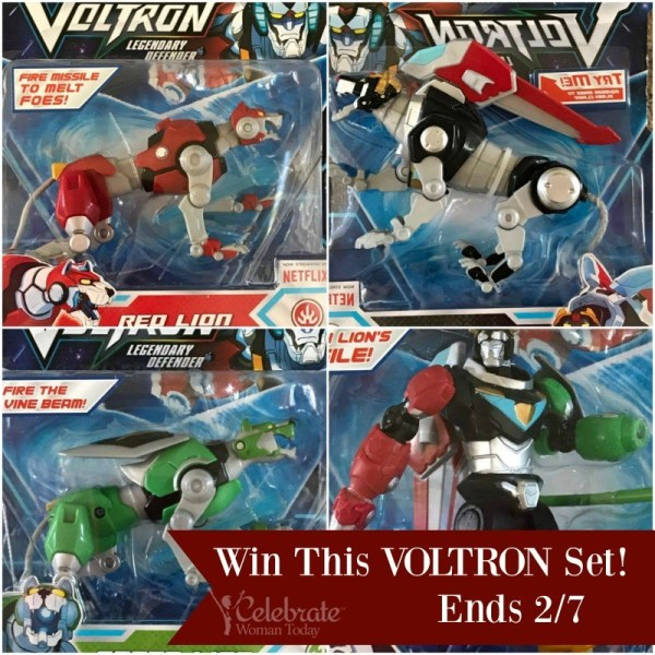Voltron Toys Giveaway ~ Ends 2/7