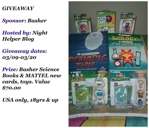 It's A Basher Science Books & Toys Giveaway