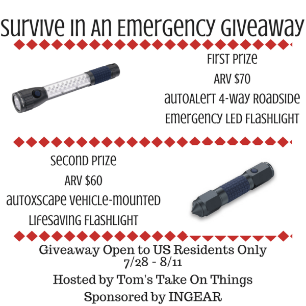 Survive in an Emergency Giveaway Ends 8/11