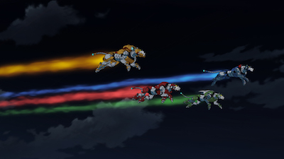 Voltron returns to Netflix in October and New York Comic Con