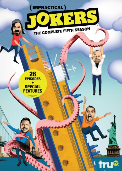 Impractical Jokers The Complete Fifth Season Available Today