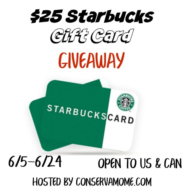 $25 Starbucks Gift Card Giveaway - Need Coffee?? Ends 6/24 Thanks for visiting Tom's Take On Things