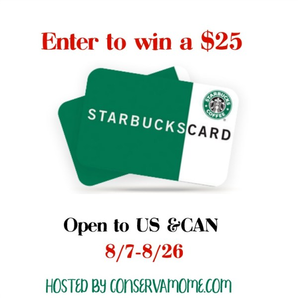 $25 Starbucks Gift Card Giveaway ~ Love coffee? This ends on 8/26 I love their Hot Chocolate! Be sure to visit the rest of Tom's Take On Things