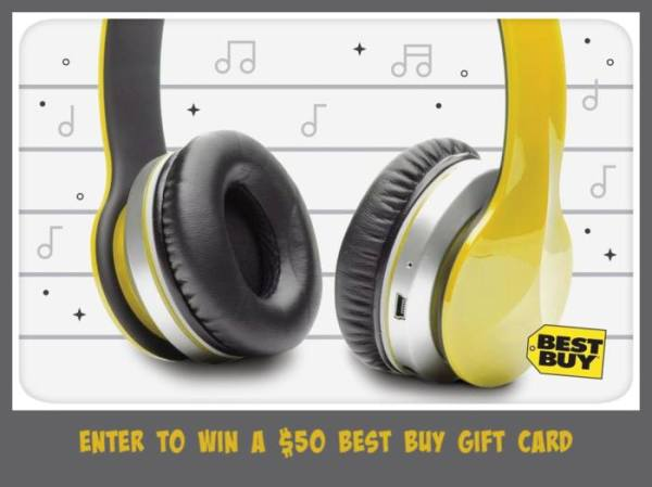 $50 Best Buy Gift Card Giveaway - Ends 2/23 Good Luck and I hope you win!