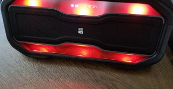 Altec Lansing RockBox XL makes listening to music exciting