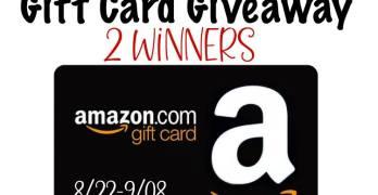 $25 Amazon Gift Card Giveaway