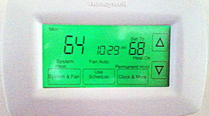 Honeywell Touchscreen Thermostat RTH7600D Review