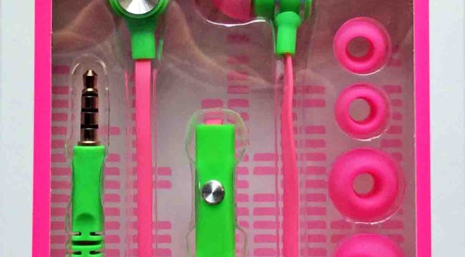 iWorld Matrix Neons Earbuds with Mic Headset Review