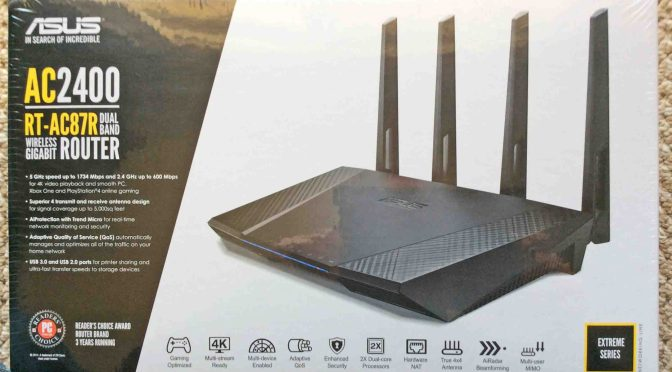Asus RT-AC87R AC2400 Wireless Dual Band Router Review