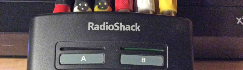 Radio Shack 15 312 Composite AB Switch Box Review