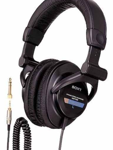 Sony MDR-7509 Professional Earphones Studio Monitor Headphones Review