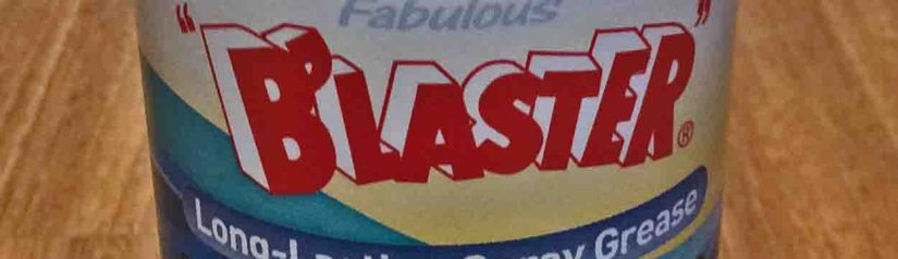 Blaster Spray White Lithium Grease Lubricant Lube Review