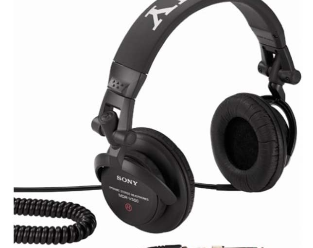 Sony MDR V500 Studio Monitor Headphones Review