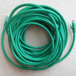 Picture of a high quality 50 Ft. Cat 6 Ethernet patch cable.