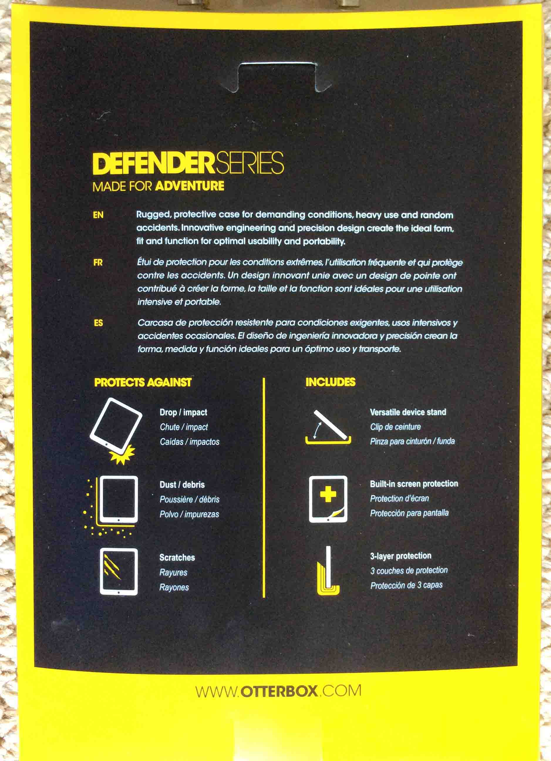 huge selection of a5c42 80c87 OtterBox Defender Case Review for iPad Air and Mini | Tom's Tek Stop
